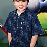 Mr. Cool at the premiere of The Jungle Book 2 in February 2003.