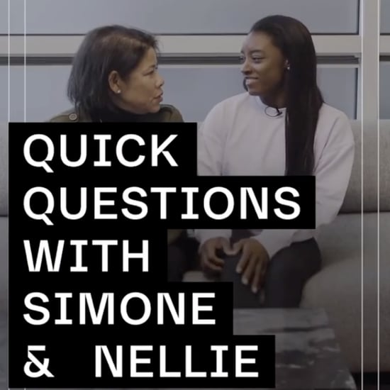 "Simone Biles Nike ""Quick Questions"" Interview With Her Mom"