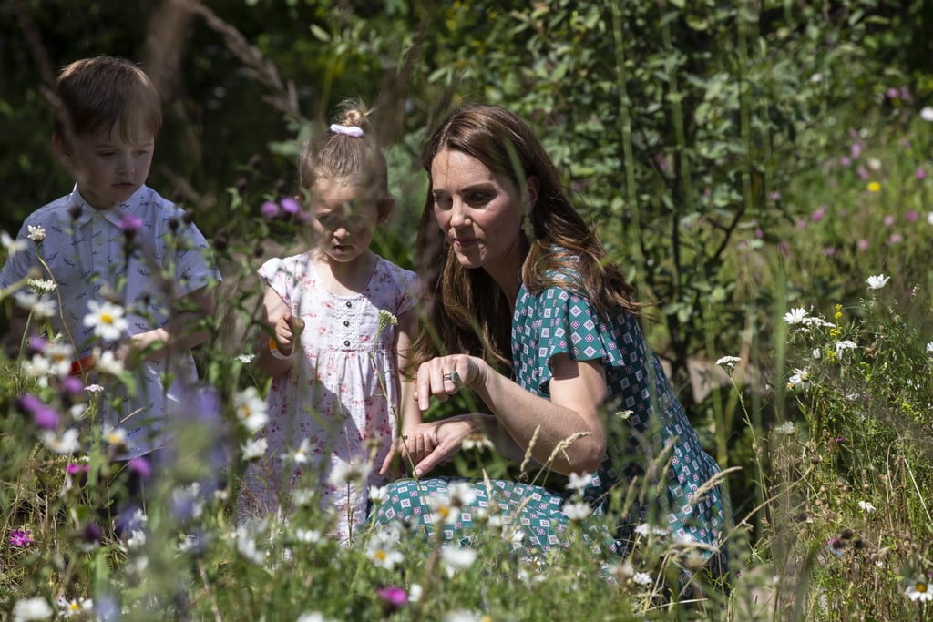 Kate Middleton Hampton Court Palace Garden Visit 2019