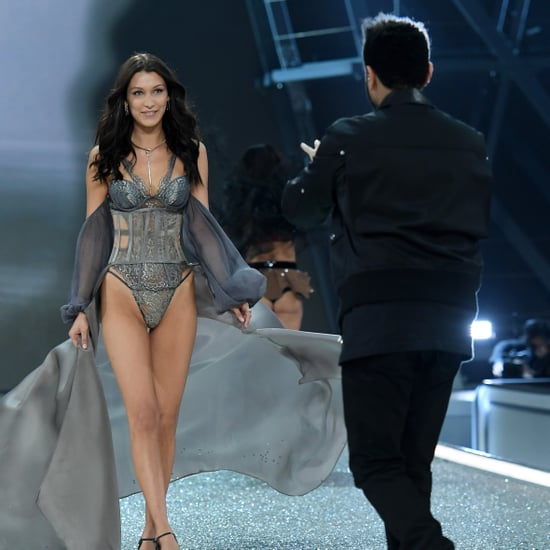 Bella Hadid and The Weeknd at Victoria's Secret Fashion Show