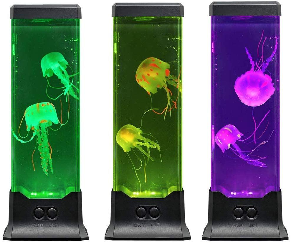 Electric Jellyfish Tank Table Lamp
