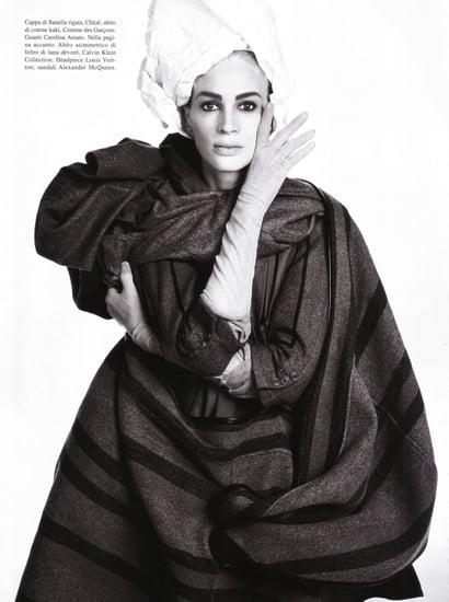 Kristen McMenamy Storms Back for July 2009 Vogue Italia