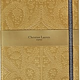 Christian Lacroix Paseo Embossed Notebook ($29)
