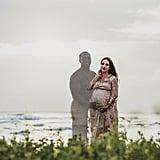 Mum Photoshops Late Husband Into Maternity Photos