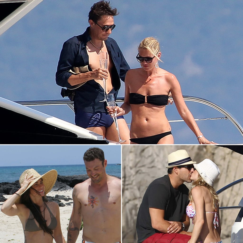 Celebrity Honeymoon Pictures