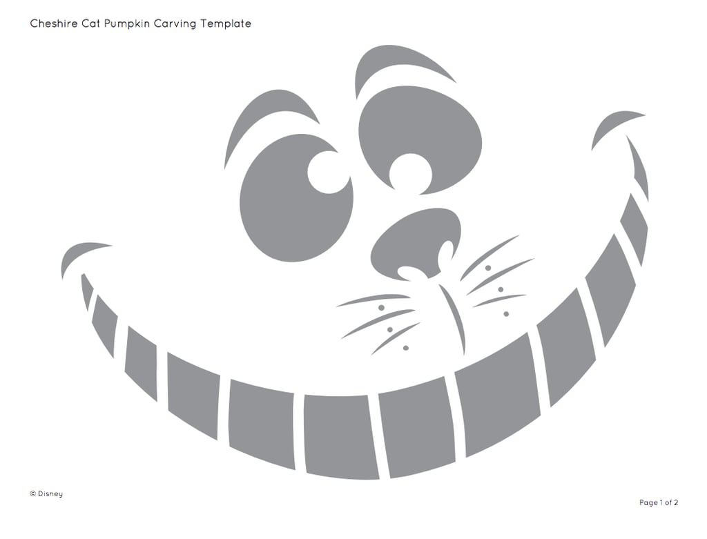 Easy Disney Pumpkin Carving Patterns Custom Inspiration Design