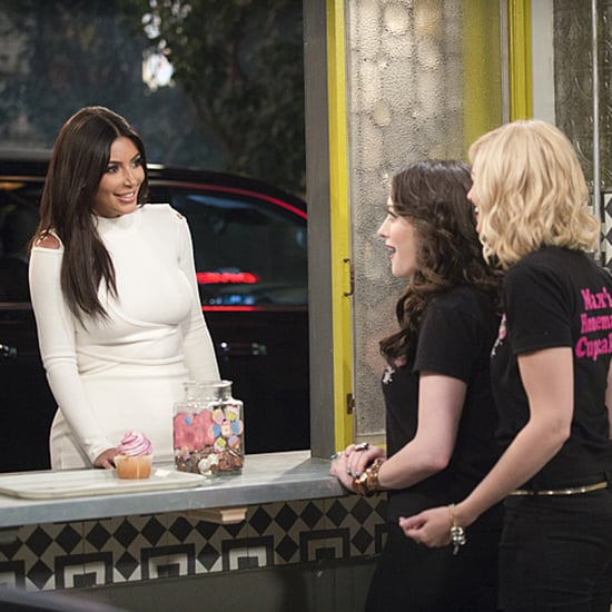 Kim Kardashian on 2 Broke Girls Pictures