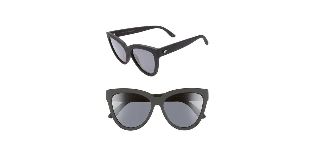 4f093da43b Le Specs Liar Liar Polarized Cat Eye Sunglasses
