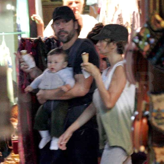 Penelope Cruz and Javier Bardem Pictures With Son Leo in Sarajevo