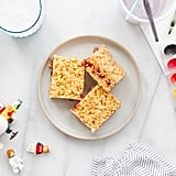 Almond Butter and Jelly Marshmallow Treats