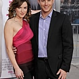 Danneel revealed some skin while Jensen suited up for the LA premiere of her movie The Back-Up Plan in April 2010.
