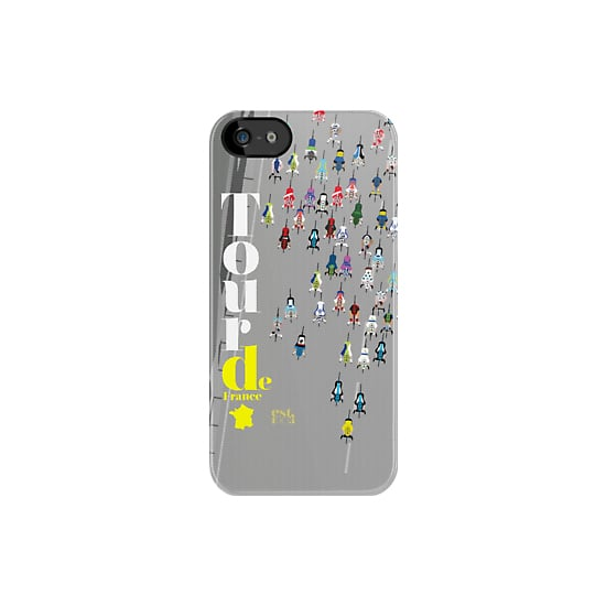 Mini bicyclists give this Tour de France iPhone 5 case ($37) a playful feel.