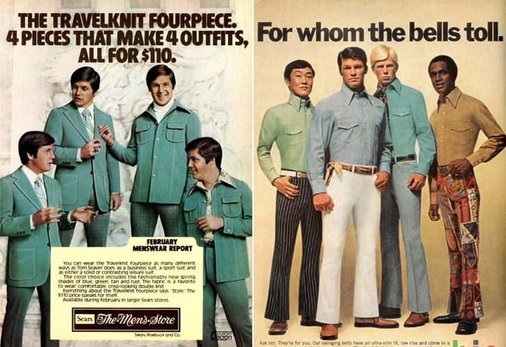 funny mens fashion ads from the 70s popsugar fashion