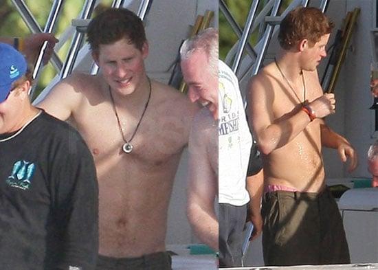 Photos of Harry Shirtless