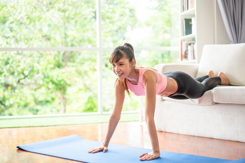 At-Home Exercises   15-Minute Living Room Workout