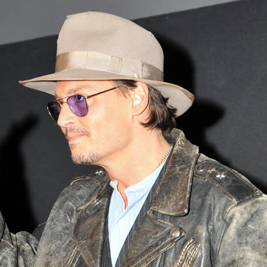 Pictures of Johnny Depp on Oprah