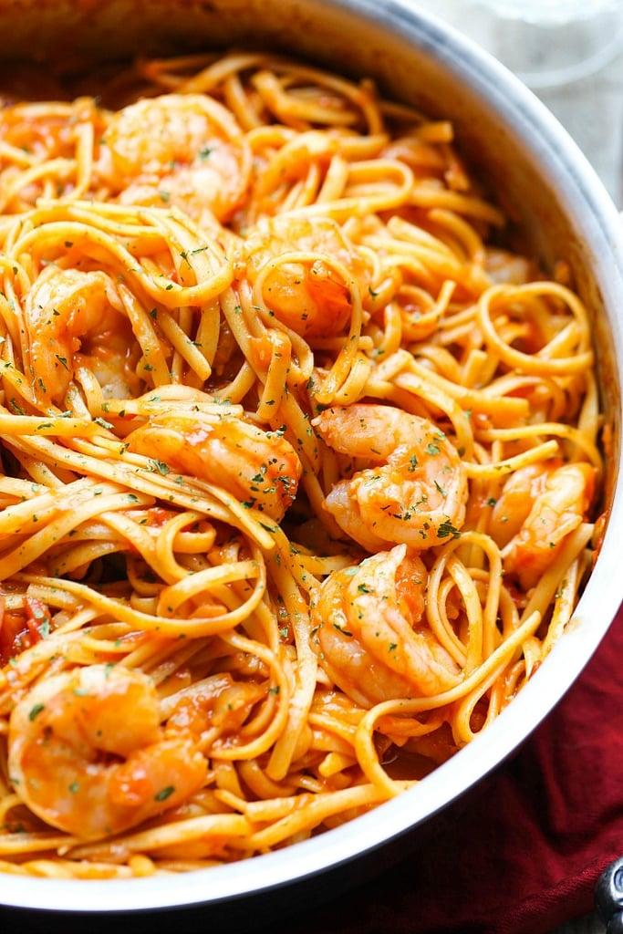 One-Pot Shrimp Pasta