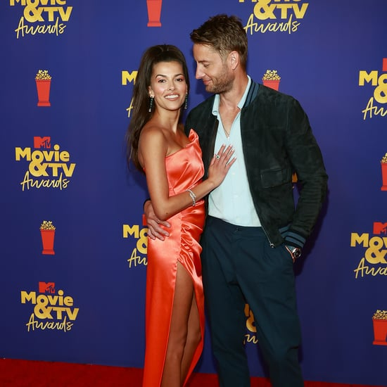 Justin Hartley and Sofia Pernas at MTV Movie and TV Awards
