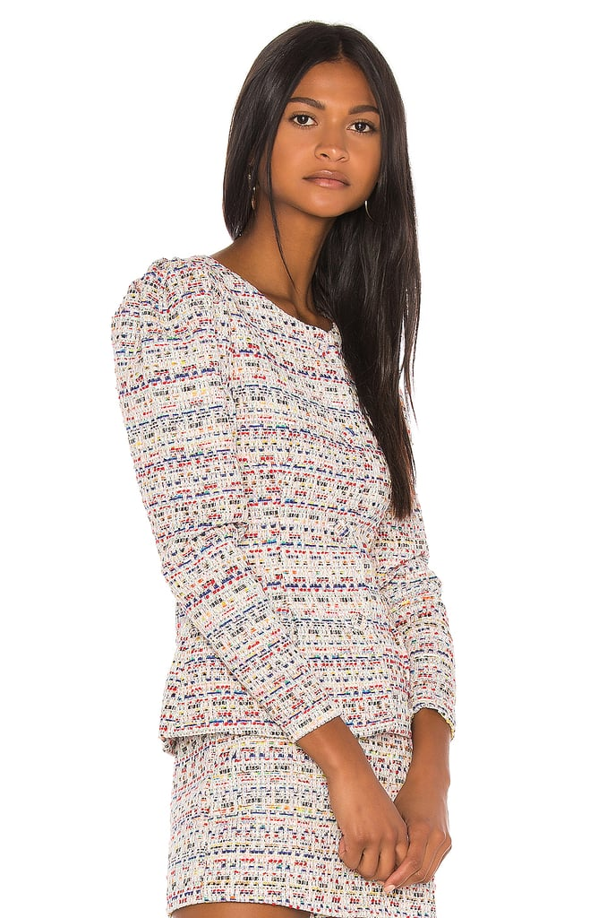 Song of Style Elma Jacket Top in Rainbow Multi from Revolve.com
