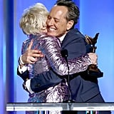 Pictured: Glenn Close and Richard E. Grant