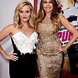 Reese Witherspoon and Sofia Vergara at Hot Pursuit Premiere