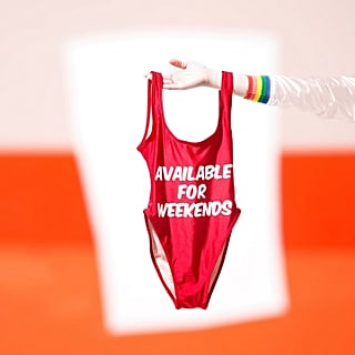 Graphic One-Piece Swimsuits
