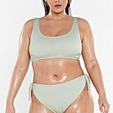Nasty Gal It's Up to You High-Waisted Bikini Bottoms
