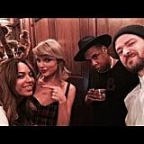 Beyoncé, Jay Z, and Justin Timberlake: Friends