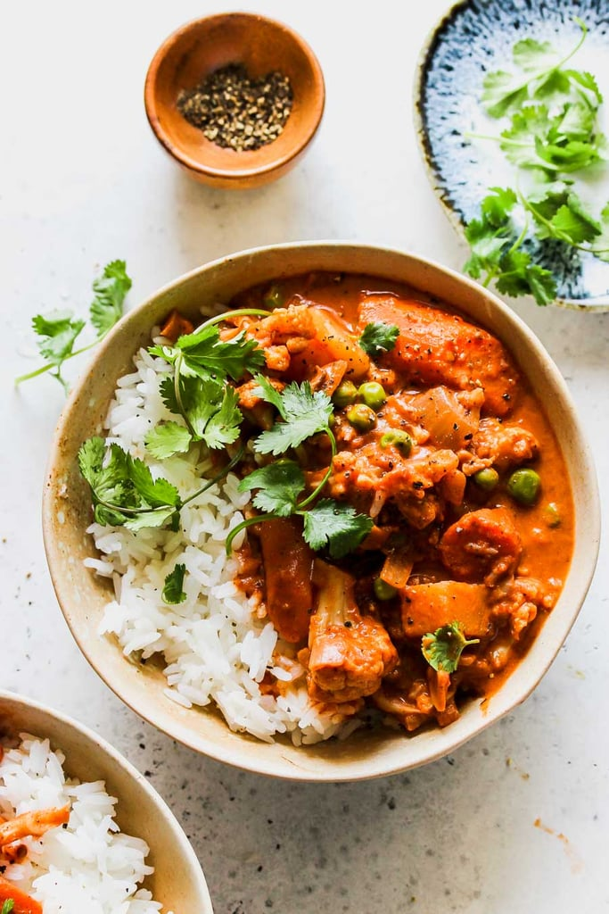 Slow-Cooker Vegetarian Tikka Masala