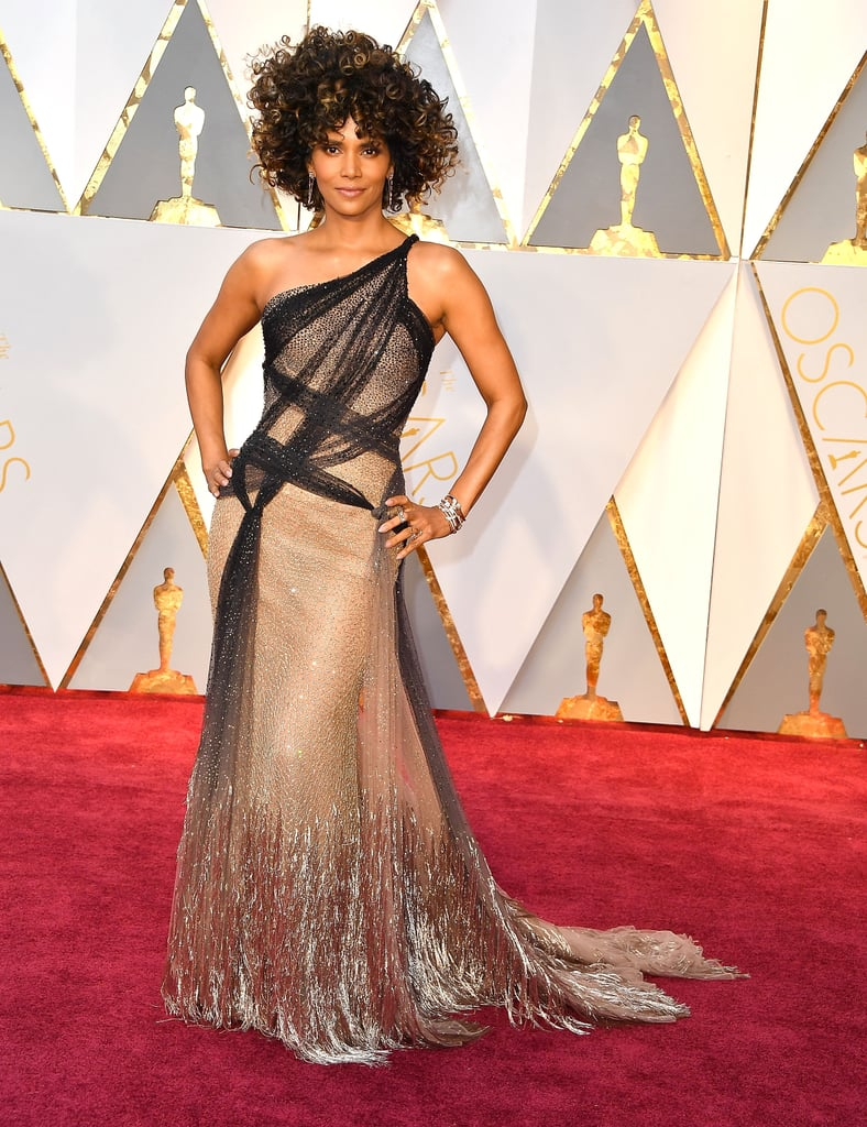 Image result for halle berry oscars 2017