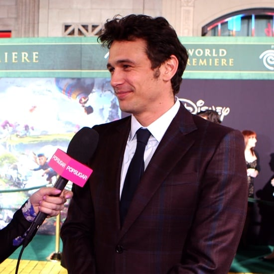James Franco Oz The Great and Powerful Premiere Video