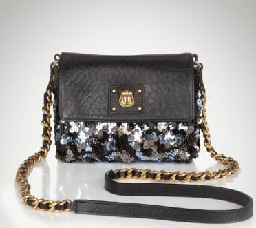 Marc Jacobs Debbie Sequined Mini Bag ($895)