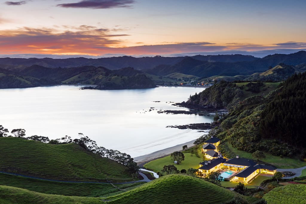 Isolated Sanctuary  in New Zealand