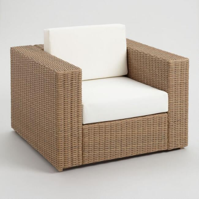 All Weather Wicker Vilamoura Outdoor Occasional Chair