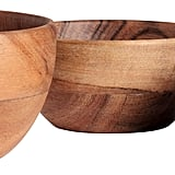 3-Pack Wooden Bowls ($18)