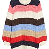 Ganni's Julliard Multistripe Mohair & Wool Sweater