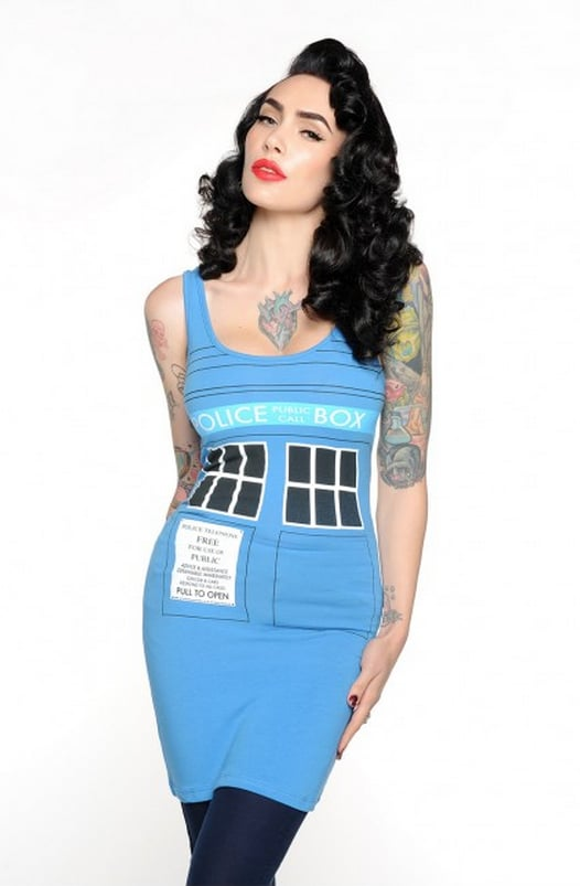 Doctor Who TARDIS Tunic ($30)