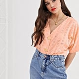 ASOS Design Button-Through Top