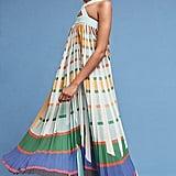Geisha Designs Abstraction Maxi Dress