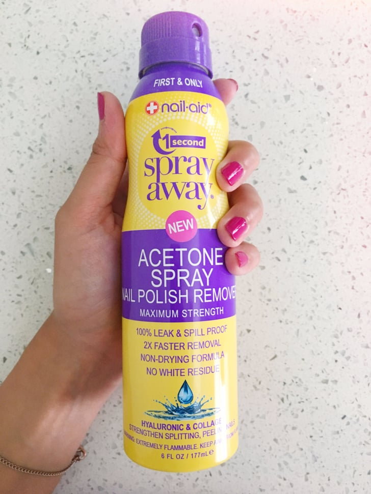 Nail Polish Remover Aerosol Spray Review Popsugar Beauty