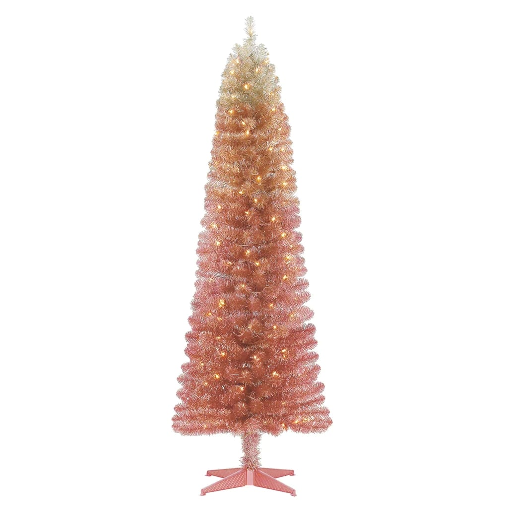 This Pink Ombré Christmas Tree From Michaels Is Stunning