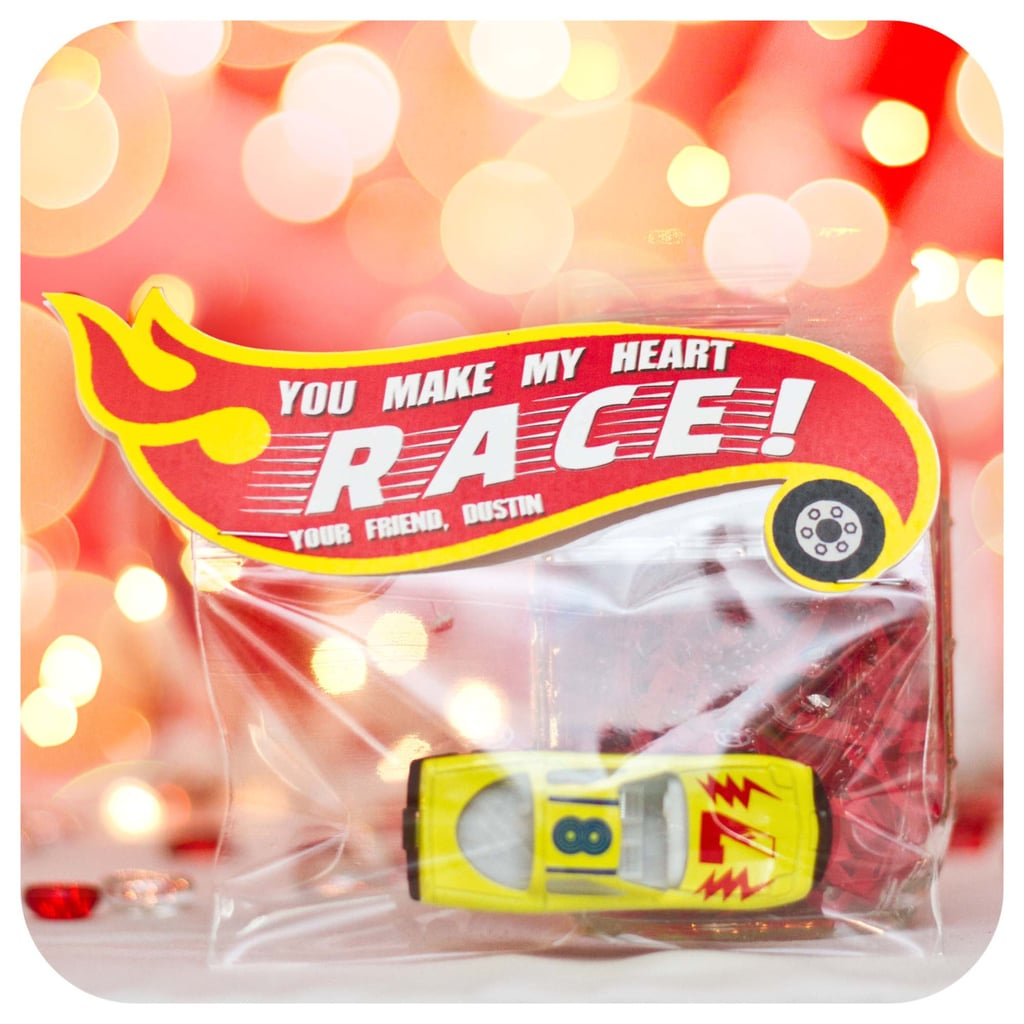 Cars Valentine's Day Topper