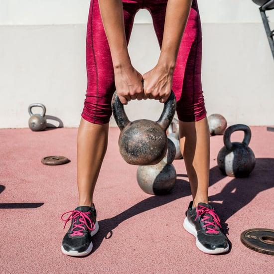 تمارين الأثقال الجرسيّة لعضلات المعدة