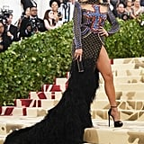 Jennifer Lopez's Balmain Met Gala Dress