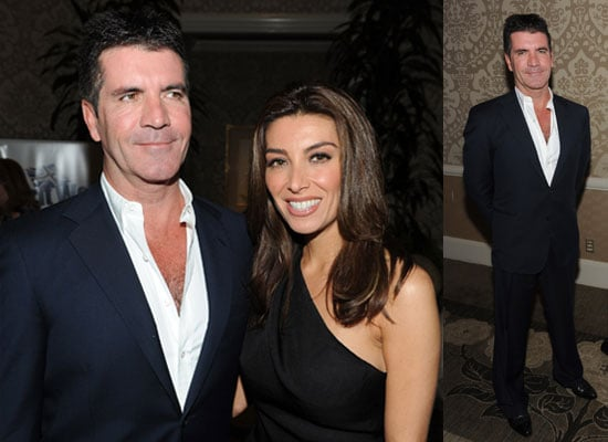 Photos of Simon Cowell at BritWeek Supporting David Cameron and Conservatives in General Election