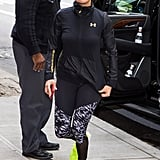 There Is Nothing Basic About Jennifer Lopez's Latest Gym Outfit