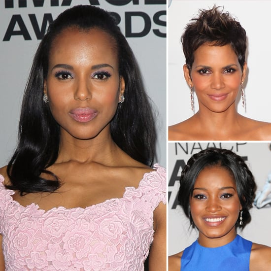 Halle Berry, Kerry Washington, and More Stun on the NAACP Image Awards Red Carpet