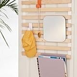 Keane Multi-Use Slatted Over-the-Door Storage Rack