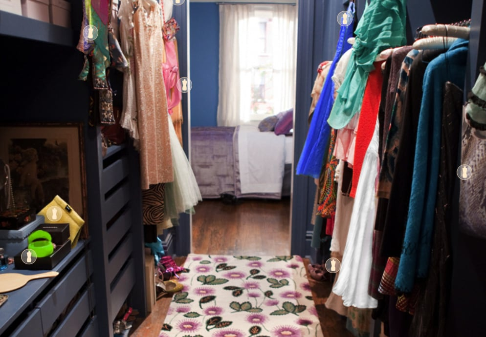 Sex and the City movie closet