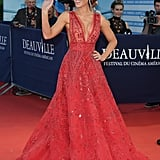 At the Deauville Film Festival, Kate looked beyond glamorous in a red Zuhair Murad gown.